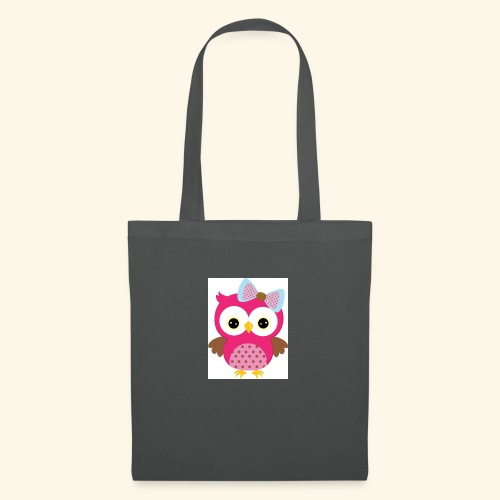 Girly Owl - Tote Bag