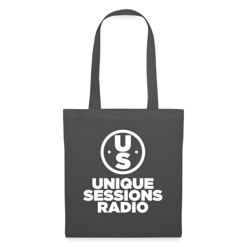 Unique Sessions Radio Monochrome White - Tote Bag