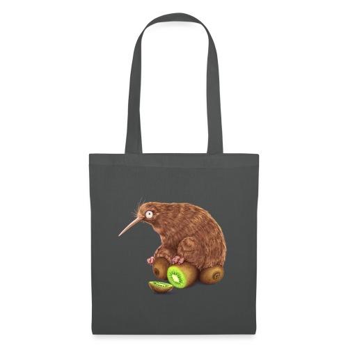 Kiwi auf Kiwis - Stoffbeutel