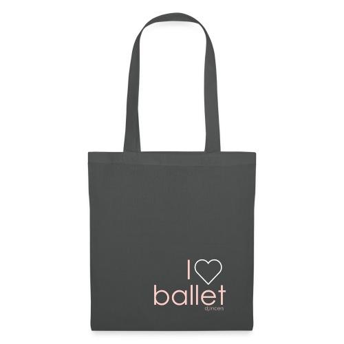 i love ballet - Tas van stof