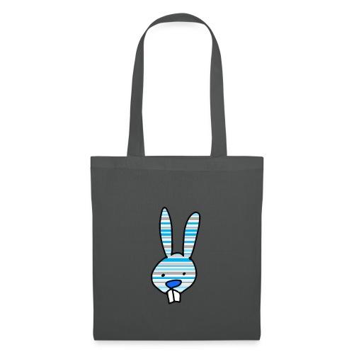 konijn cartoon - Tas van stof
