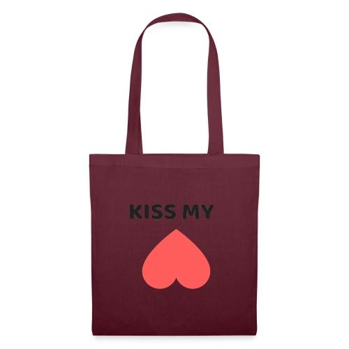Kiss My Ass - Torba materiałowa