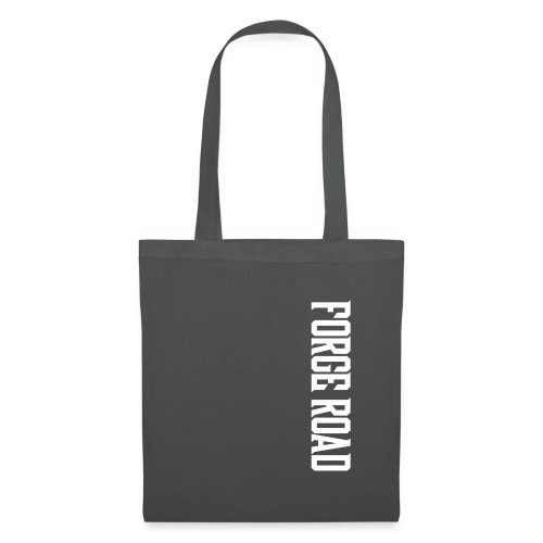 Forge Road Logo - White - Tote Bag