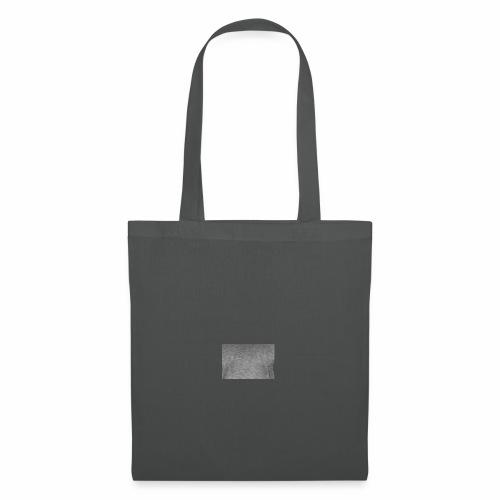 Camiseta cuadrado gris moderno - Bolsa de tela