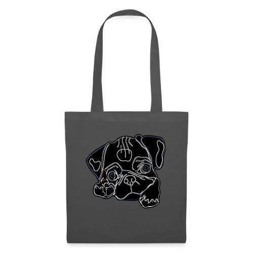 Pug Face - Tote Bag