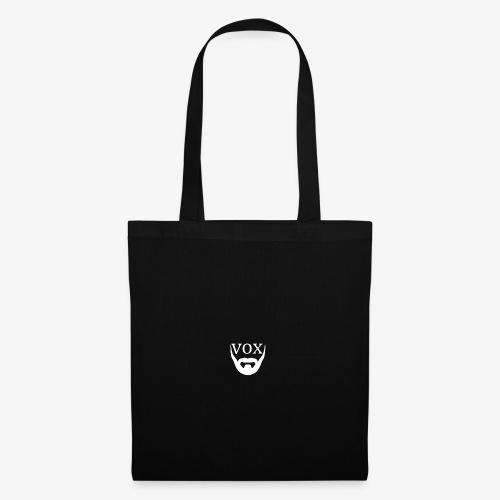 Logo Vox Bianco - Borsa di stoffa