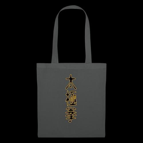 2 taiji schriftzeichen - Stoffbeutel