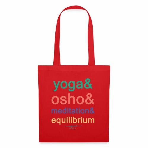 Yoga& Osho& Meditation& Equilibrium - Tote Bag