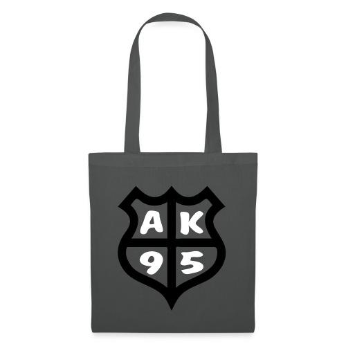 logo ak95 - Stoffbeutel
