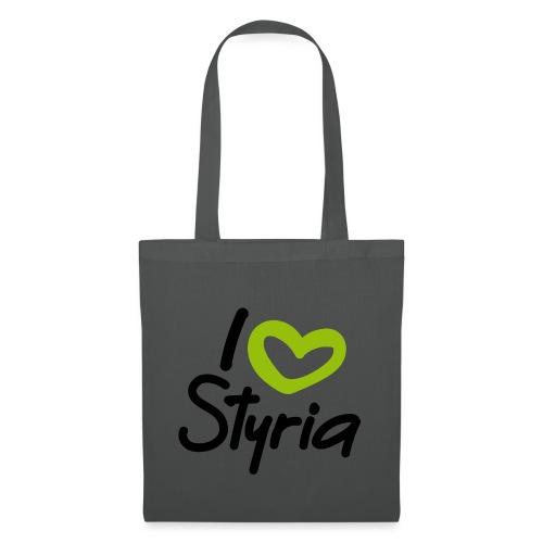I love Styria. - Stoffbeutel