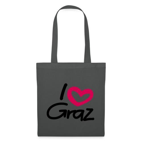 I love Graz. - Stoffbeutel