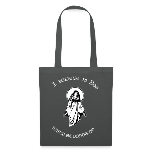 GodDog White - Tote Bag