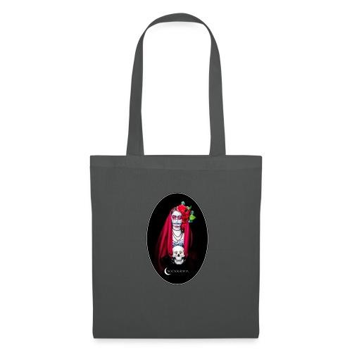 Catrina Noctografia Medallón - Bolsa de tela
