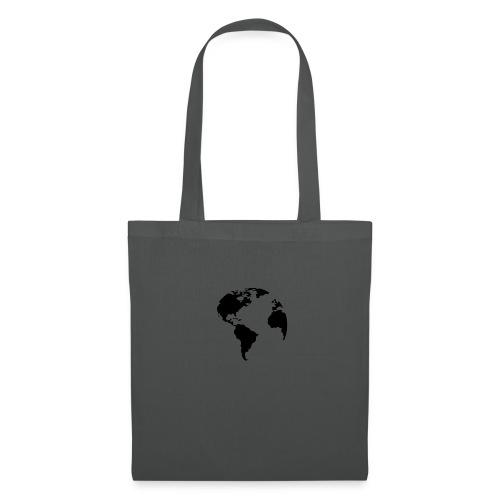 Welt World Erde - Stoffbeutel