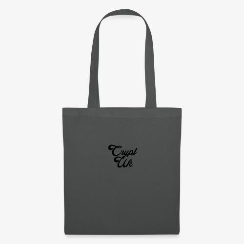 Black Square No Motto - Tote Bag
