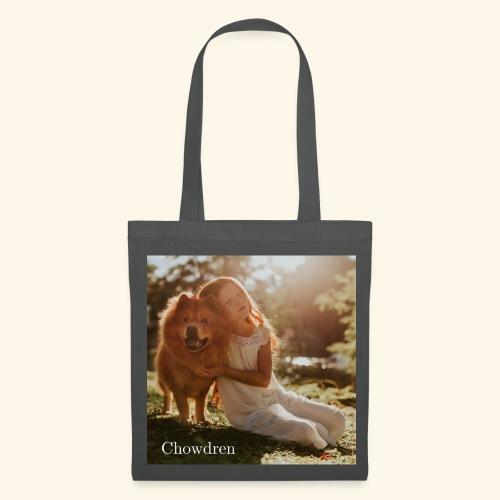 Chowdren - Chow Chow und Kind - Stoffbeutel