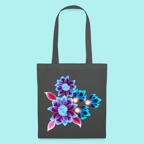Hypnotic flowers - Tote Bag