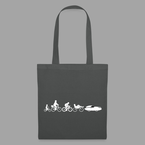 Bicycle evolution white Quattrovelo - Kangaskassi