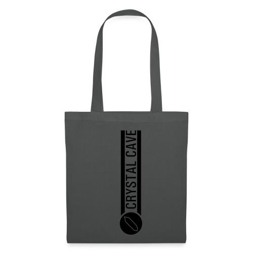 logo testo nero - Borsa di stoffa