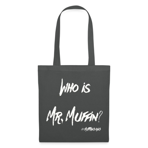 Who is Mr. Muffin White Edition //Special for Caps - Stoffbeutel
