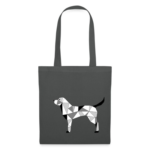 Hund illustriert - Stoffbeutel