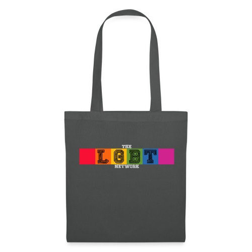 The LGBT Network Logo White - Tote Bag
