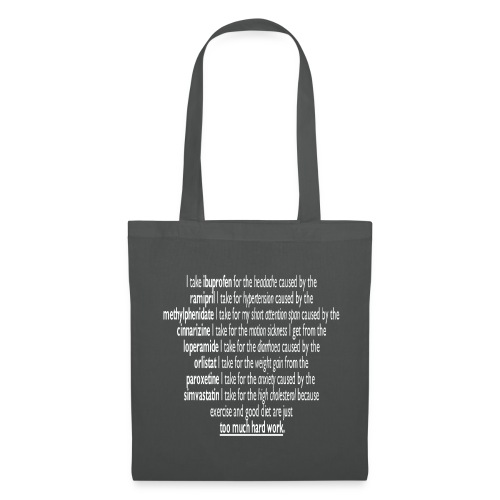 Polypharmacy is life! - Tote Bag