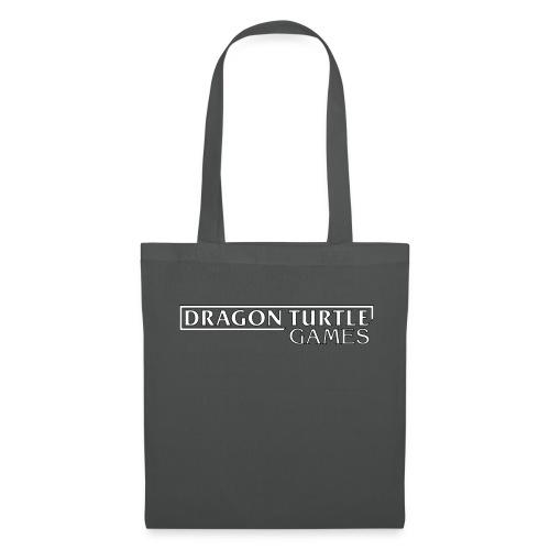 Dragon Turtle Games Logo White - Tote Bag