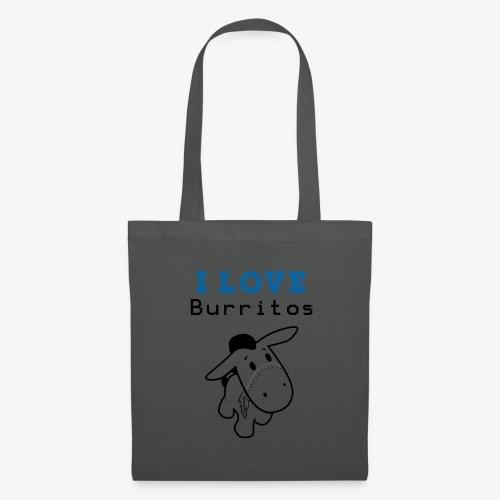 I Love Burritos - Bolsa de tela