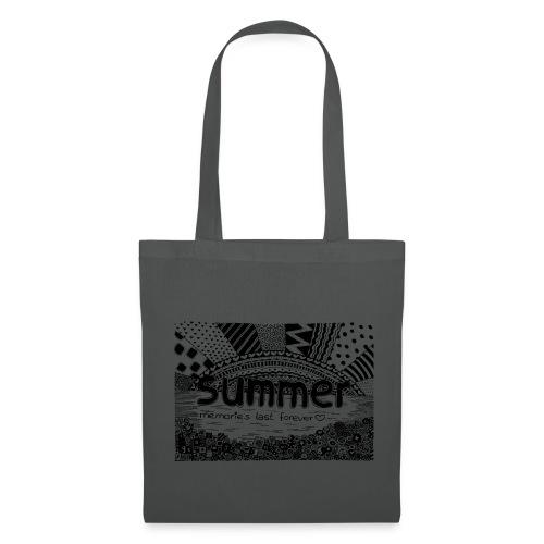 Doodle Art Summer - Stoffbeutel