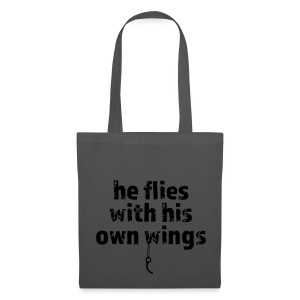 He flies... - Stoffbeutel
