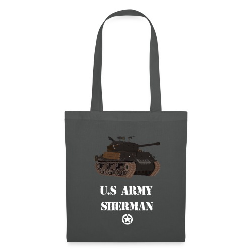Sherman Tank WW2 - Tote Bag