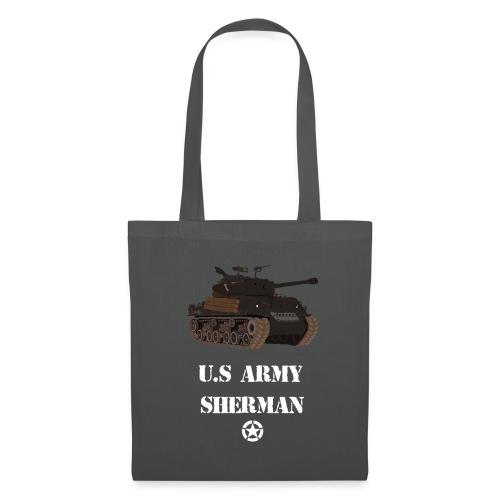 Sherman Tank WW2 - Tote Bag