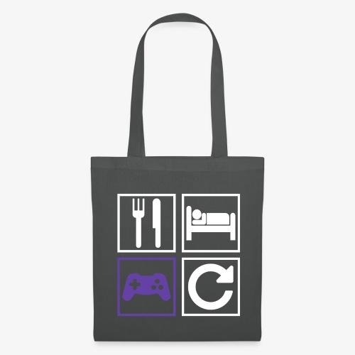 Eat, Sleep, Game, Repeat - Tote Bag