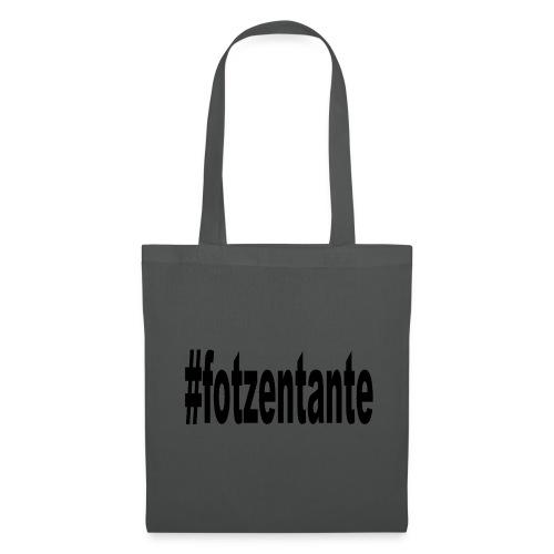 #fotzentante - Stoffbeutel