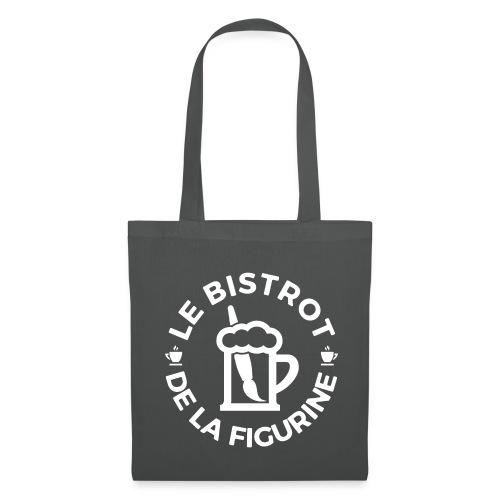 Logo blanc classique - Tote Bag