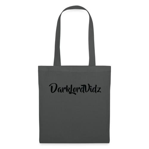 DarklordVidz Black Logo - Tote Bag