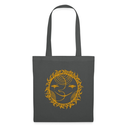 Golden Sunmoon Rising - Tote Bag