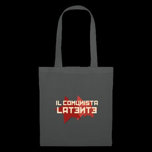 #IlComunistaLatente Logo Ufficiale - Borsa di stoffa