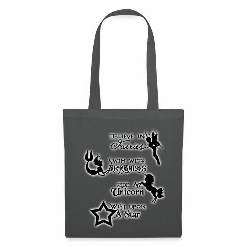 Fairies, Unicorns, Mermaids and Stars - Tote Bag