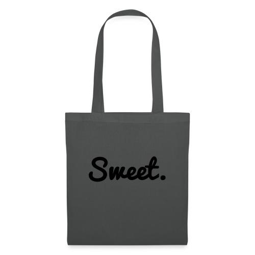 Sweet. - Schriftzug - Stoffbeutel