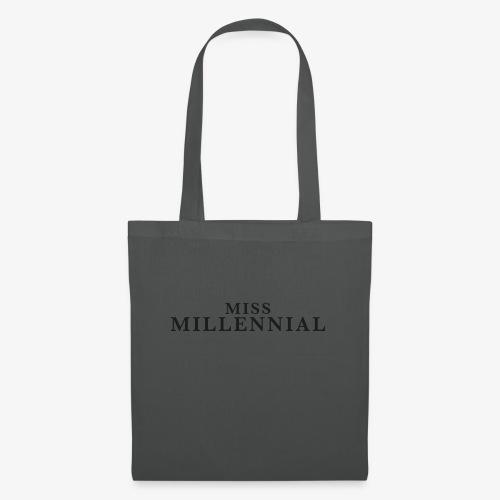 Miss Millennial - Stoffbeutel