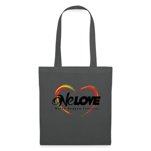 LOGO ONE LOVE 2016 - Borsa di stoffa
