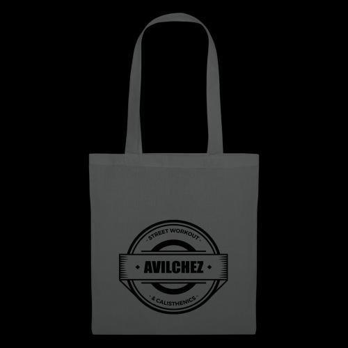 AVilchez Logo Negro - Bolsa de tela