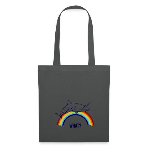 rainbow shark unicorn - Tote Bag