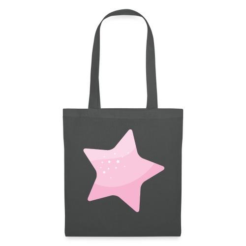 Star pink - Bolsa de tela