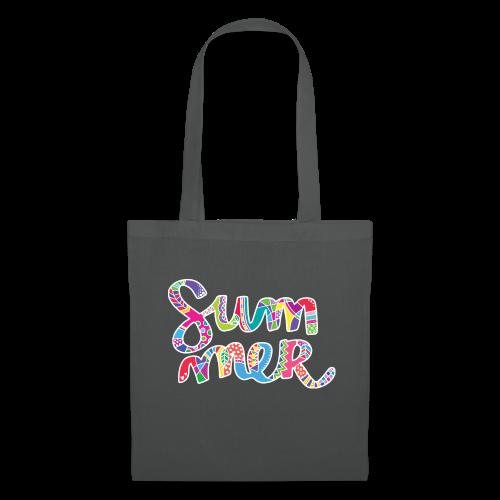 INANI Napis SUMMER 01 WHITE 02 - Tote Bag