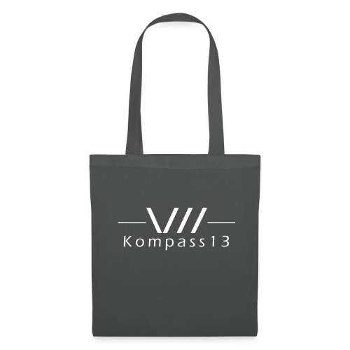 Kompass13 logo - Stoffbeutel