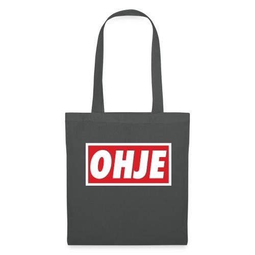 Ohje Obey - Stoffbeutel