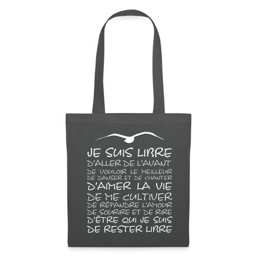 J SUIS LIBRE - Tote Bag